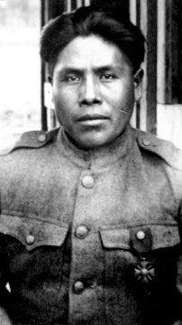 Joseph Oklahombi The most decorated soldeier from Oklahoma during WW1